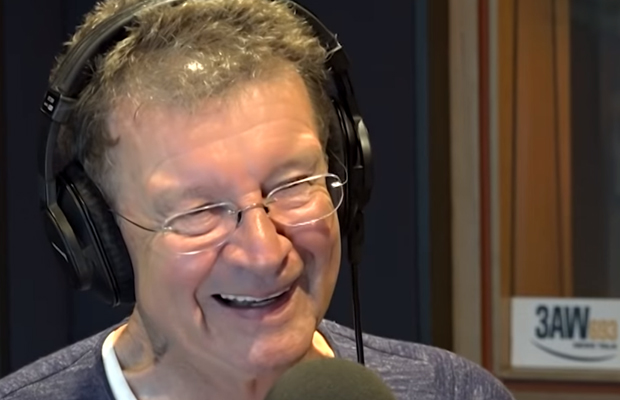 Article image for He's back today! Red Symons to fill hosting chair at 3AW
