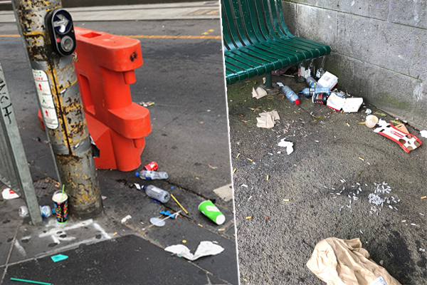 Article image for Messy Melbourne: More bins needed in the CBD