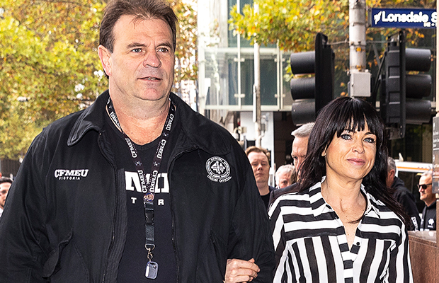 Article image for Wife of charged CFMEU boss caught drink-driving hours after Setka argument