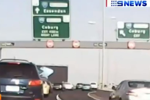 "Article image for Another sign removed from Tullamarine Freeway in ""precautionary"" measure"