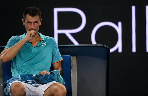 Article image for Bernard Tomic launches verbal attack on Lleyton Hewitt