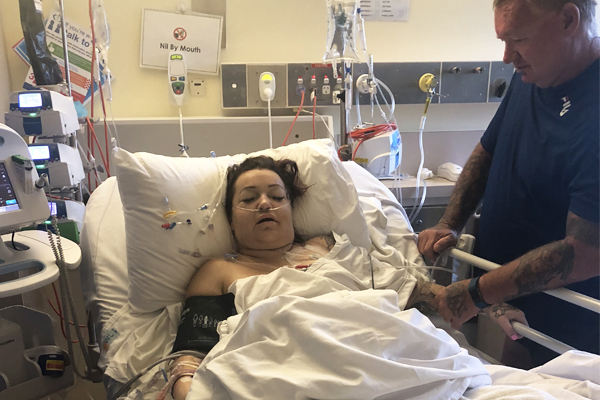 Article image for Donor organ recipient Kate is out of surgery and recovering in hospital