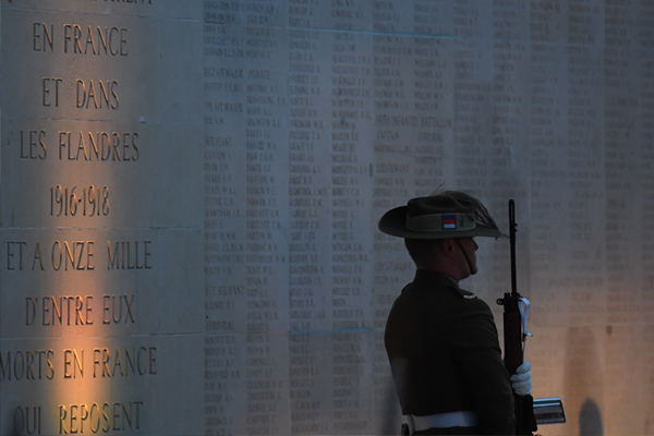 """Article image for Veterans """"absolutely floored"""" by Australian government decision to move Villers-Bretonneux dawn service"""