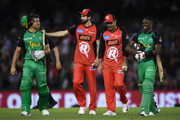 Mike Hussey previews the BBL final