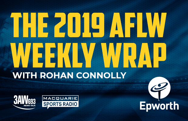 Article image for The AFLW Weekly Wrap Podcast with Rohan Connolly, February 18