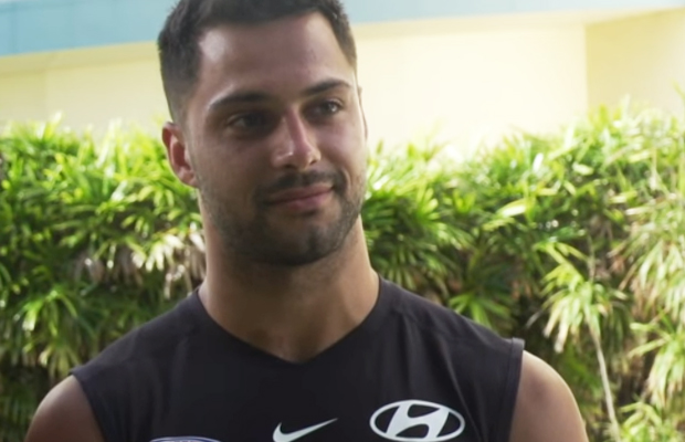 Article image for Carlton star's classy message for newly-listed Blue