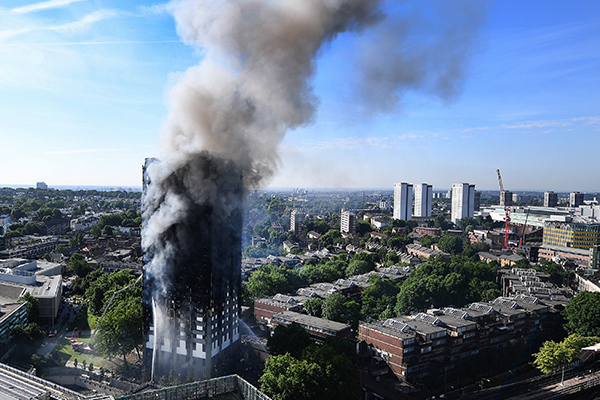 Article image for Grenfell reviewer says flammable cladding must go urgently before Melbourne 'catastrophe'