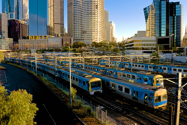 Article image for Buses to replace trains on several major Melbourne train lines for most of April