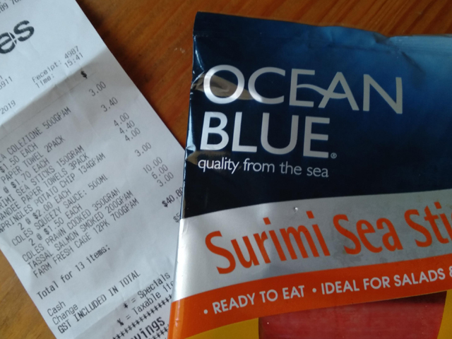Article image for Man claims Coles sold him seafood six weeks' past expiry date