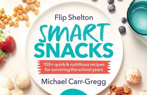 Smart Snacks! Michael Carr-Gregg and Flip Shelton release new recipe book!