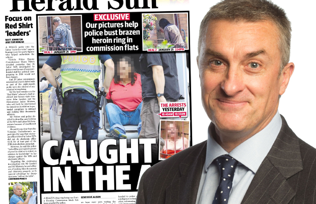 Article image for Tom Elliott praises police over drug bust, but says he's a little confused