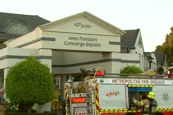 Article image for Nursing home evacuated after Hampton East fire