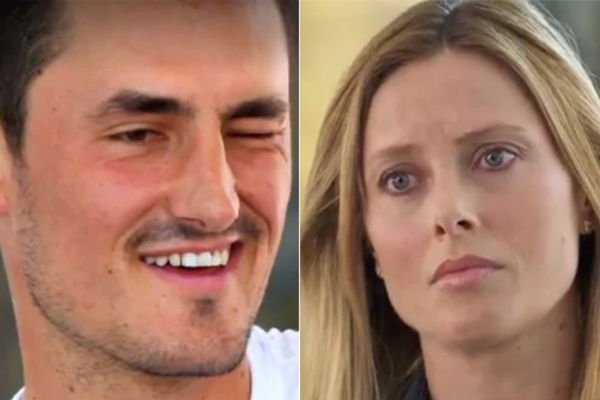 Article image for 60 Minutes of winking: Bernard Tomic's behaviour has us all confused
