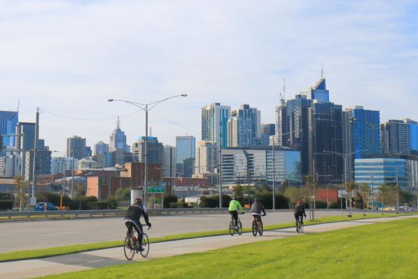 "Article image for RACV deem bike ""super highways"" best way to combat congestion in Melbourne"