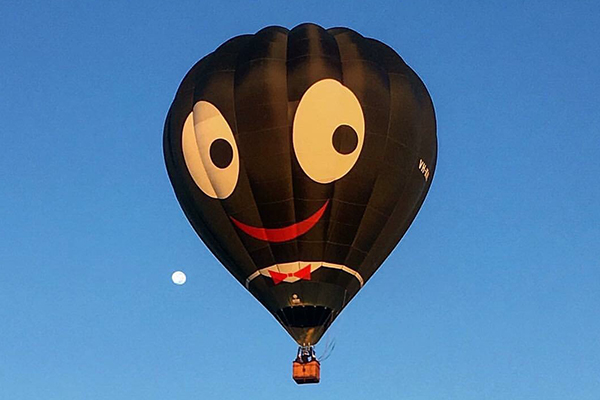 Article image for Why this hot air balloon has been banned from Canberra event