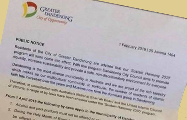 Article image for Police hunt author of 'fake and offensive' letter promoting hoax Muslim laws