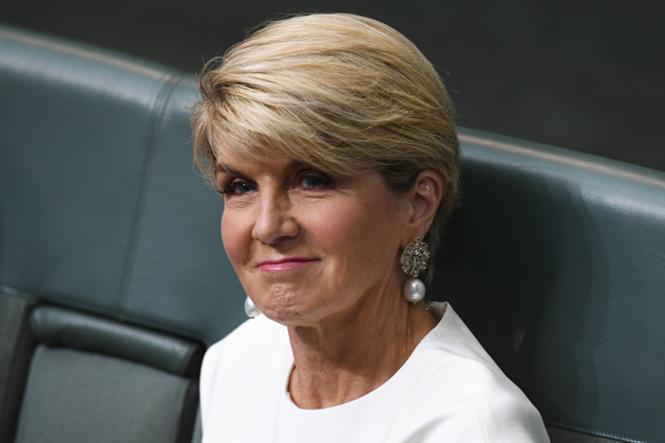 Article image for JUST IN: Julie Bishop announces her retirement from politics