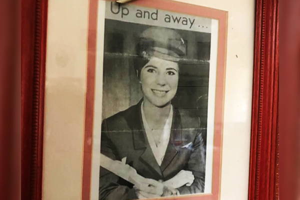 Article image for Aussie airline hostie hangs up her wings after 50 years service