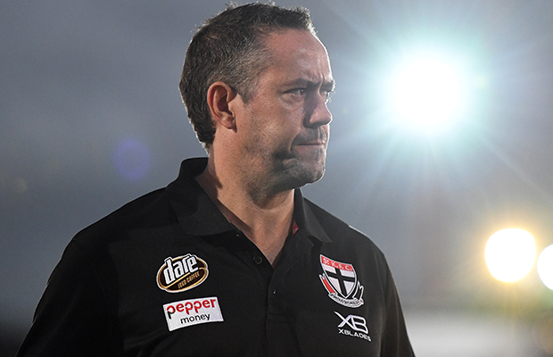 Article image for St Kilda footy boss makes a bold claim about the Saints as critics circle
