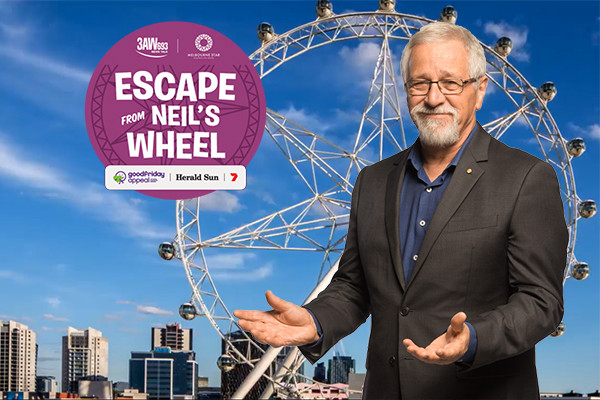 Article image for It's back! Neil's Wheel to hold big names hostage for the Good Friday Appeal