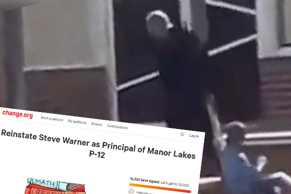 Article image for Almost 15,000 people sign petition in support of suspended Manor Lakes principal