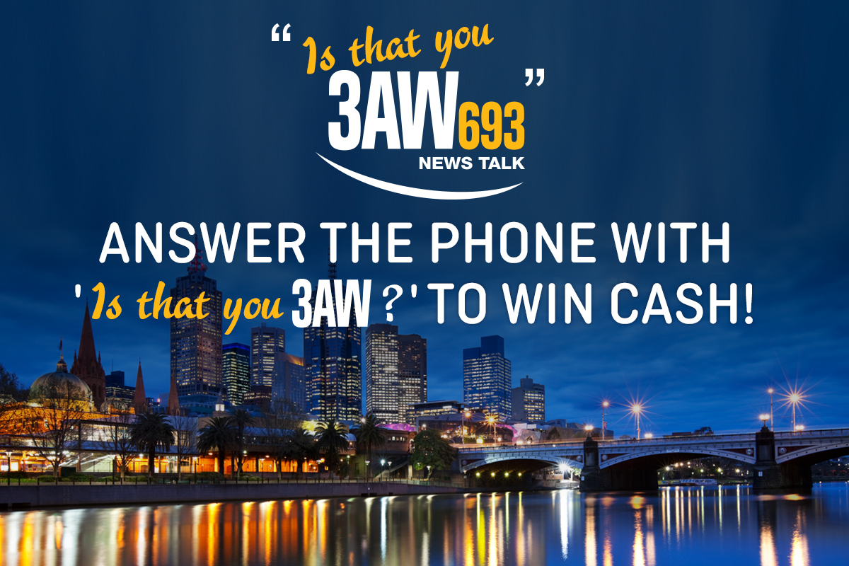 Win cash with Is that You 3AW