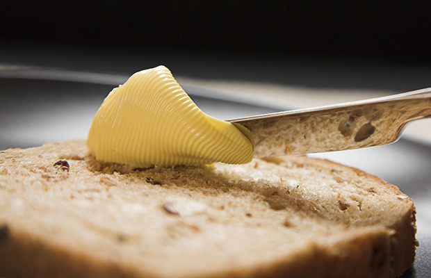 Article image for What should you use on bread? Butter or margarine?