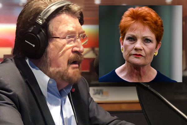 Hinch fires back at suggestions he 'bullied' Pauline Hanson