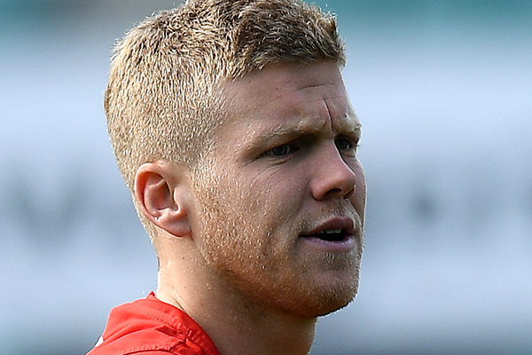 Article image for Dan Hannebery 'still several weeks away' from training fully