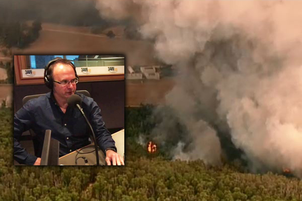Article image for 'We fought it on our own': Mark Knight says residents left to fight Tonimbuk blaze without CFA