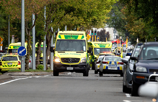 Article image for Dozens killed in New Zealand terrorist attack: PM promises gun law changes