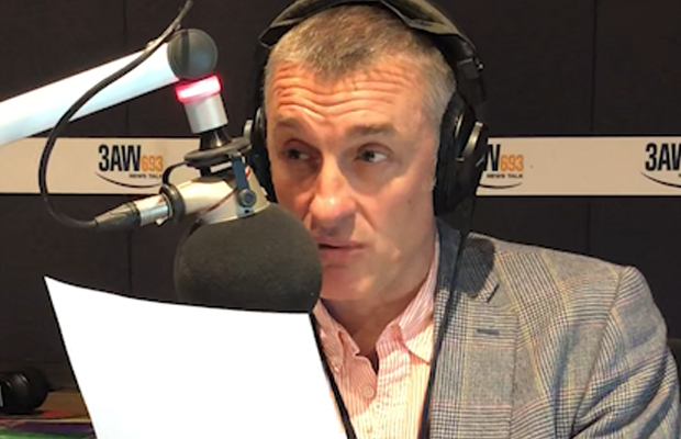 Article image for A furious Tom Elliott rips into controversial university lecturers for 'slagging off' Australia