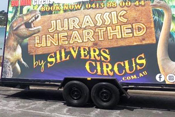 Trailer with circus gear inside stolen from Melbourne's west