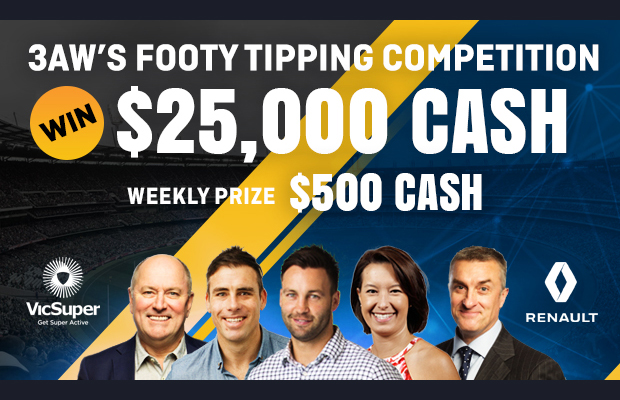 JOIN NOW! 3AW's footy tipping competition for 2019!