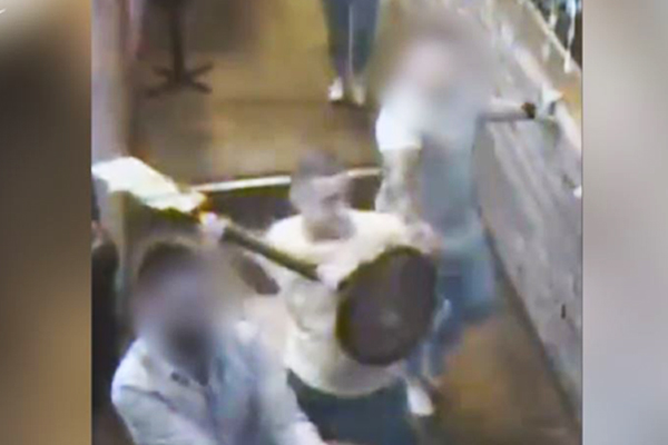 Article image for CCTV: Police search for men involved in violent Fitzroy fight