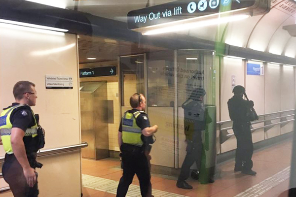Article image for Victoria Police reveal what sparked peak hour chaos at Flagstaff station