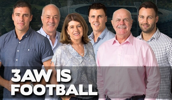 Article image for 3AW Football broadcast schedule: Where we're calling the footy this week!