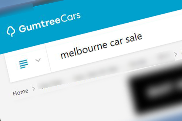 Article image for Two men take off in woman's car after she places ad on Gumtree