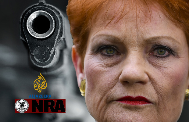 Article image for The Australian behind Al Jazeera's One Nation sting doesn't fear police