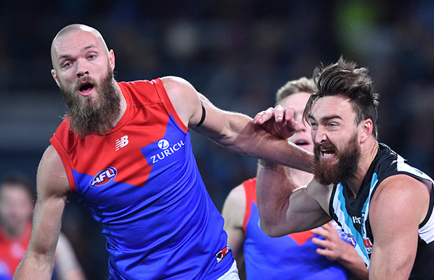 LIVE FOOTY: Melbourne v Port Adelaide from the MCG