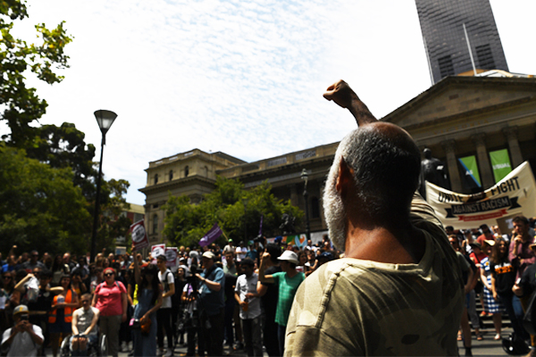 Article image for 'Stand against racism and Islamaphobia': Rally at the State Library tonight