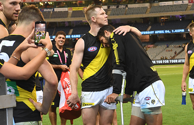 Article image for MATCH WRAP: Alex Rance injury overshadows professional Richmond win