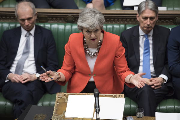 Article image for 'Catastrophic for her leadership': Theresa May + Brexit running out of time as deal fails again
