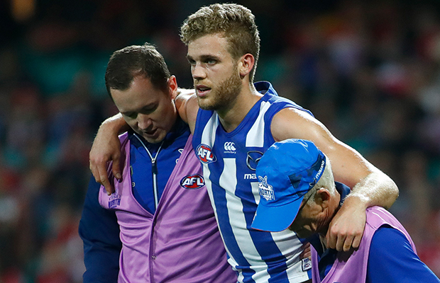 Article image for Ed Vickers-Willis ruptures ACL against Fremantle