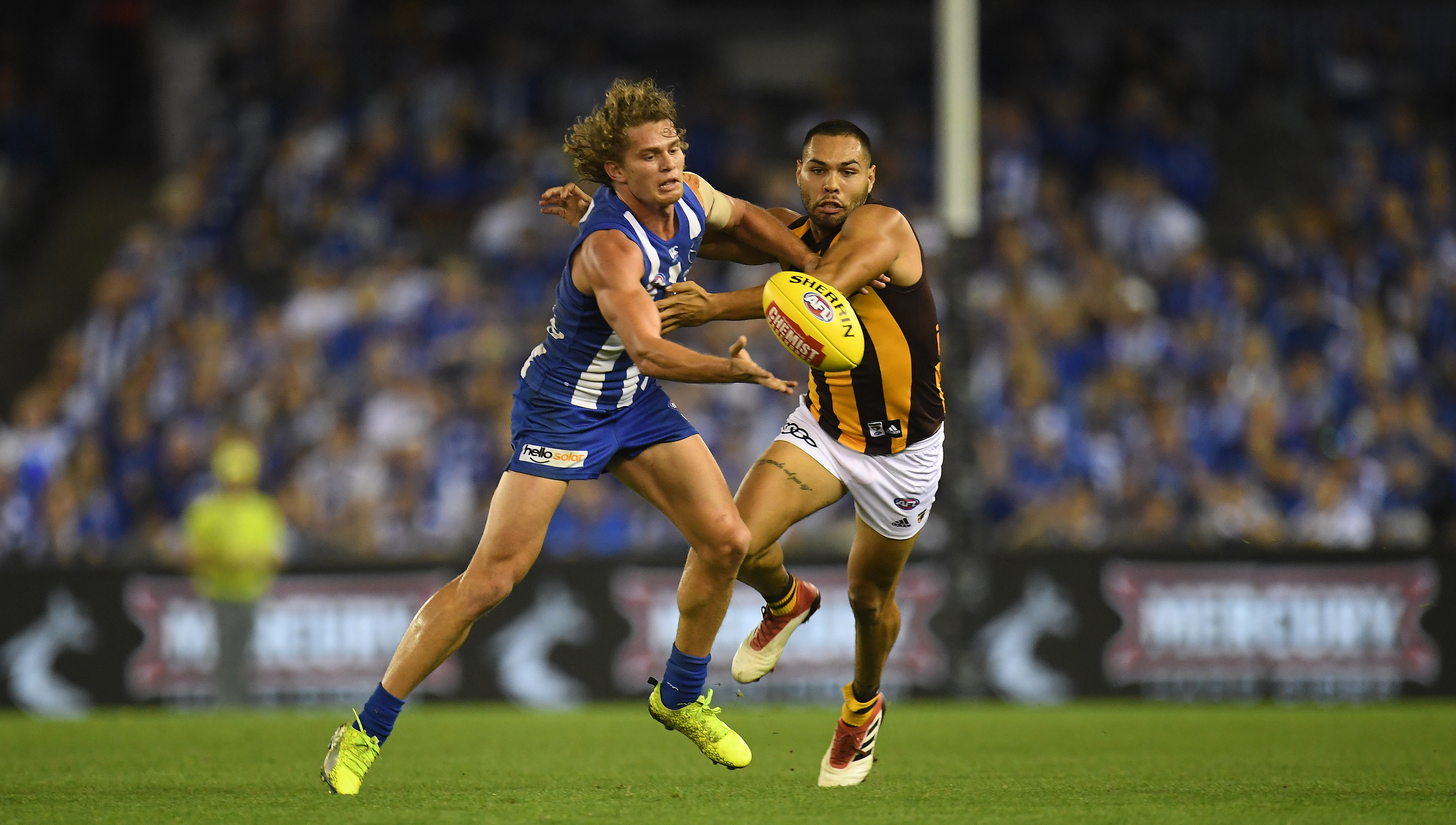 Article image for North yet to win as Hawks dominate at the G