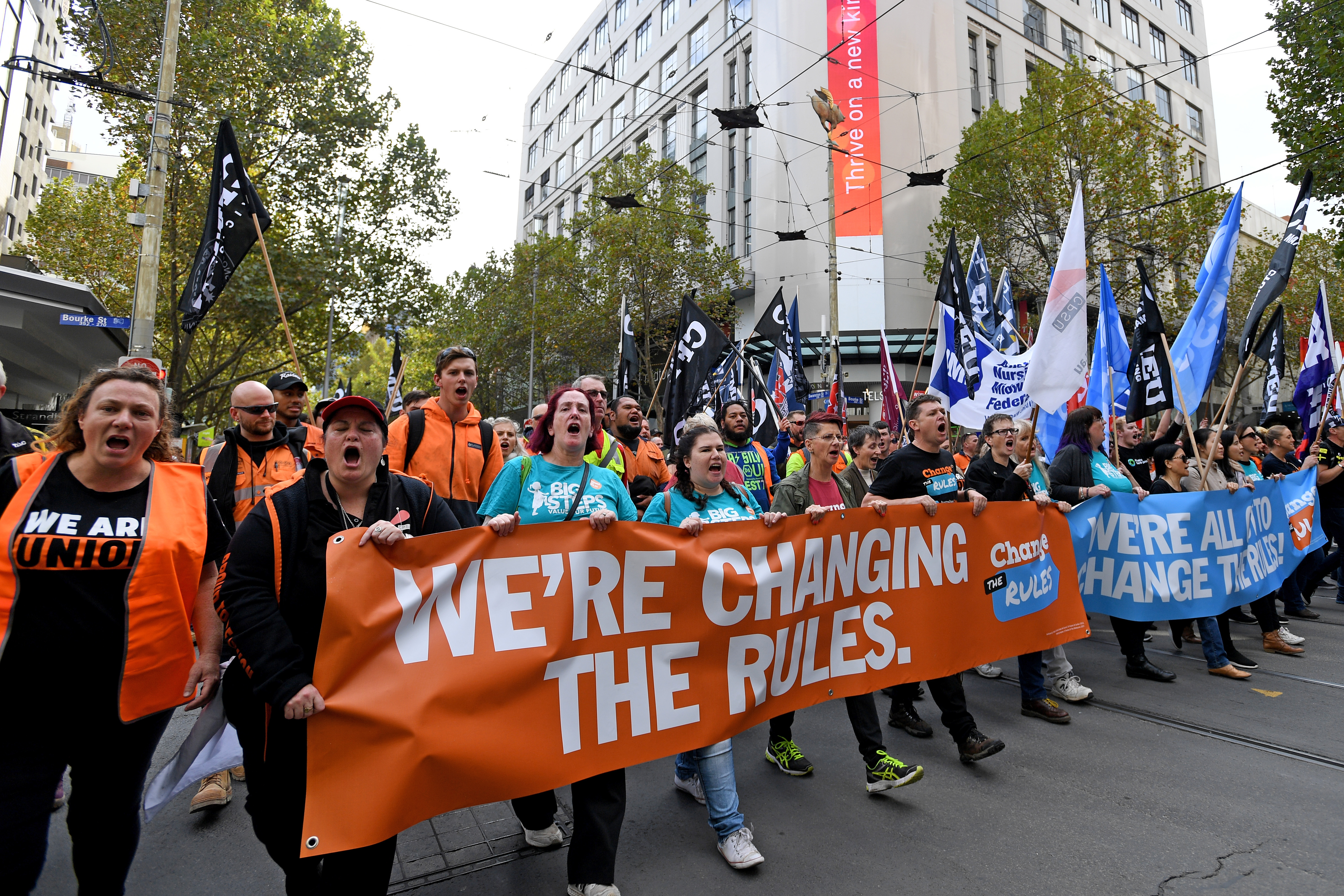 Article image for CFMEU to protest in the CBD on Wednesday
