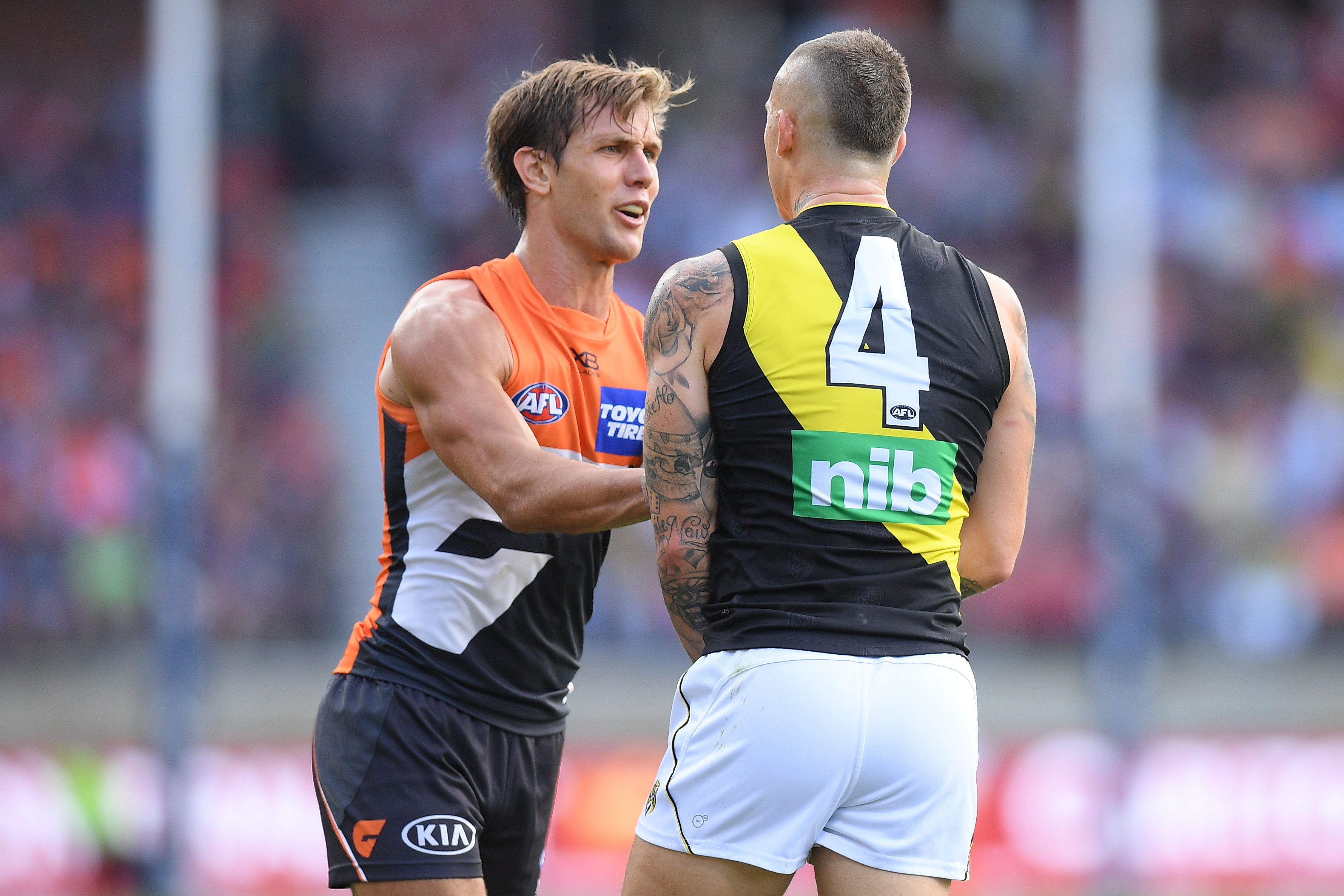 Article image for Dustin Martin has suspension slashed at the tribunal