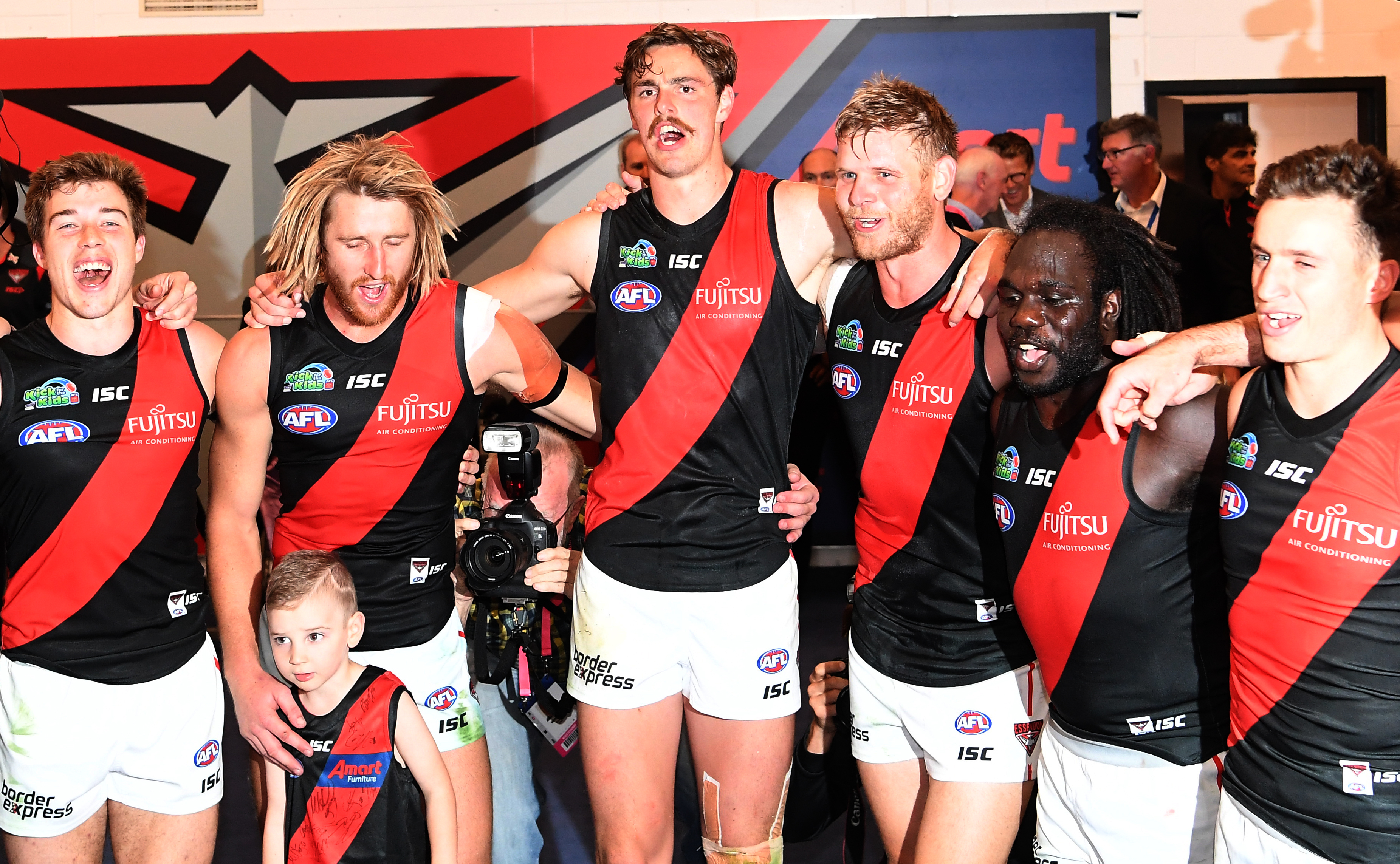 Article image for Essendon lose speedster in big late change