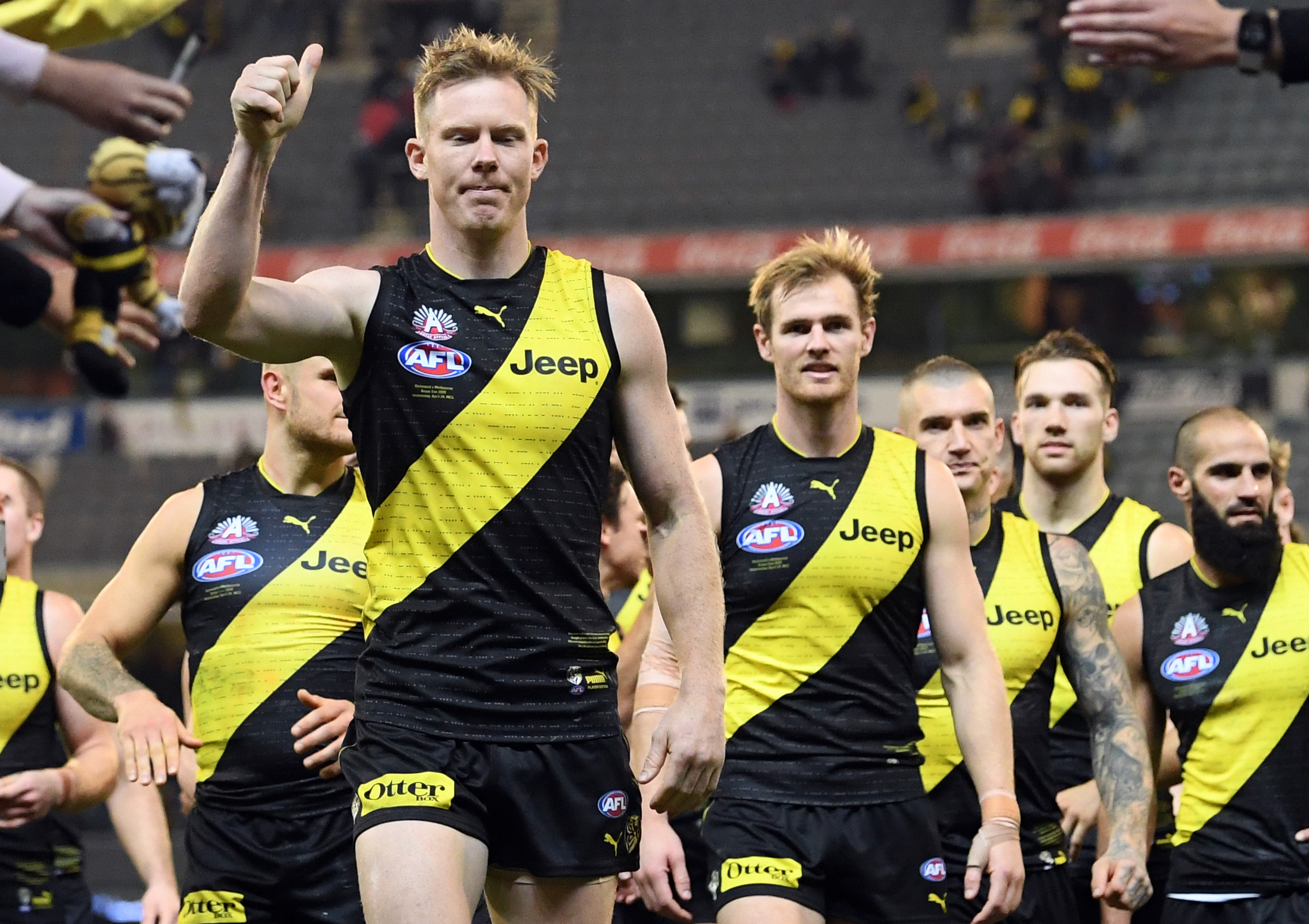 Article image for The Tigers sweep the Dees aside but at a cost…