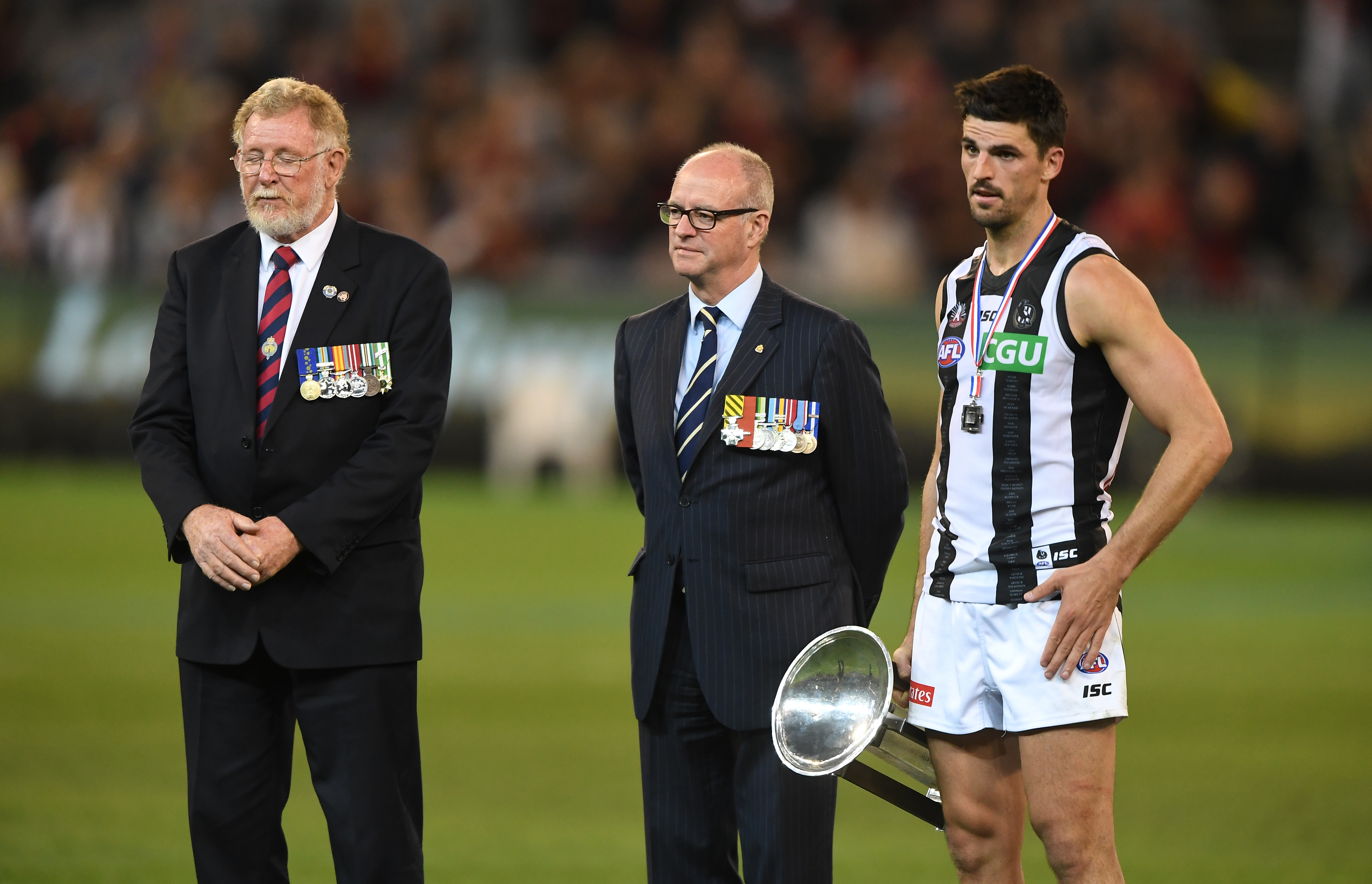 Article image for MATCH WRAP: Anzac Day clash marred by booing controversy